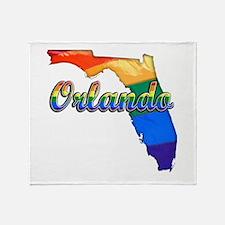 Orlando, Florida, Gay Pride, Throw Blanket