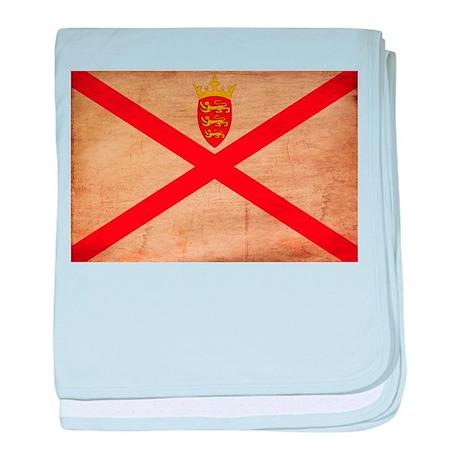 Jersey Flag baby blanket