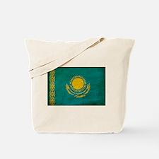 Kazakhstan Flag Tote Bag