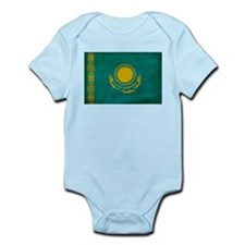 Kazakhstan Flag Infant Bodysuit