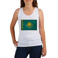 Kazakhstan Flag Women's Tank Top