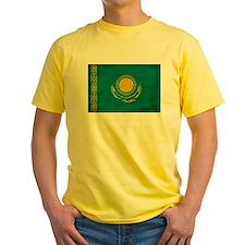 Kazakhstan Flag T