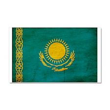 Kazakhstan Flag Car Magnet 20 x 12