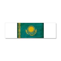 Kazakhstan Flag Car Magnet 10 x 3