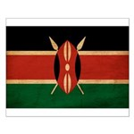 Kenya Flag Small Poster