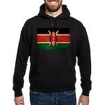 Kenya Flag Hoodie (dark)