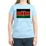 Kenya Flag Women's Light T-Shirt