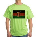 Kenya Flag Green T-Shirt