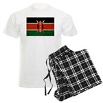 Kenya Flag Men's Light Pajamas