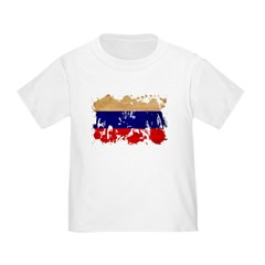 Russia Flag T