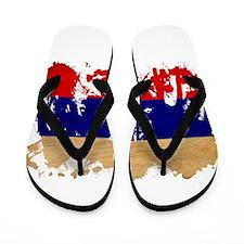Russia Flag Flip Flops