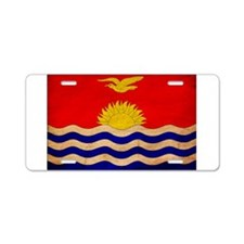 Kiribati Flag Aluminum License Plate