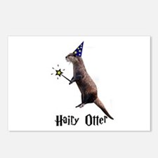 Hairy Otter Postcards (Package of 8)