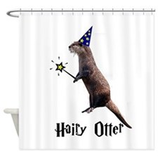 Hairy Otter Shower Curtain