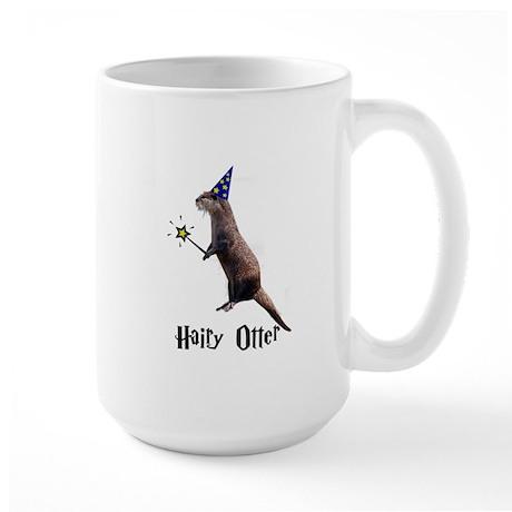 Hairy Otter Large Mug