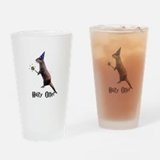 Hairy Otter Drinking Glass