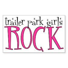 Trailer Park Girls ROCK Rectangle Bumper Stickers