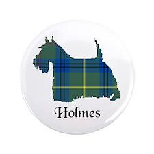 "Terrier - Holmes 3.5"" Button"