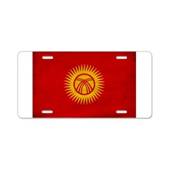 Kyrgyzstan Flag Aluminum License Plate