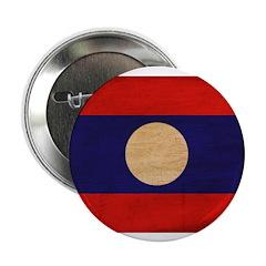 "Laos Flag 2.25"" Button (10 pack)"