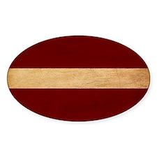 Latvia Flag Decal