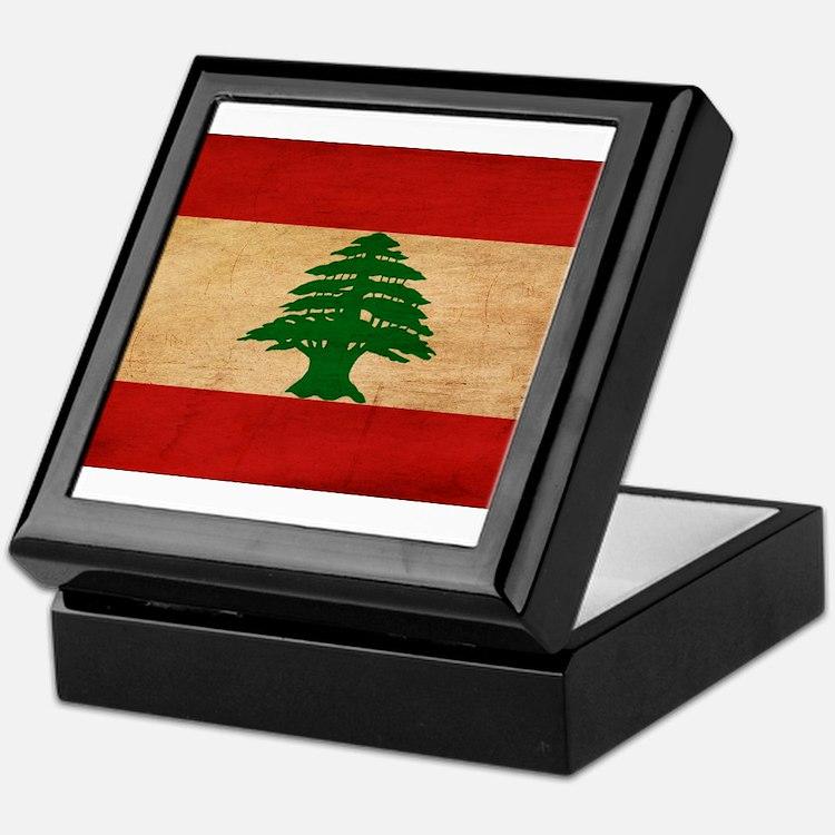 Lebanon Flag Keepsake Box