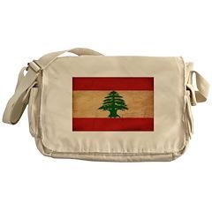 Lebanon Flag Messenger Bag