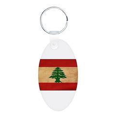 Lebanon Flag Keychains
