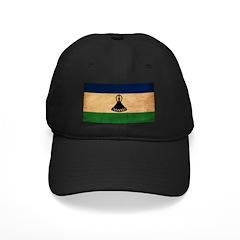 Lesotho Flag Baseball Hat