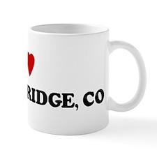 I Love Breckenridge Mug