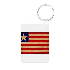 Liberia Flag Keychains