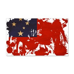 Samoa Flag 22x14 Wall Peel