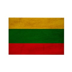 Lithuania Flag Rectangle Magnet