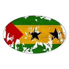 Sao Tome and Principe Flag Decal