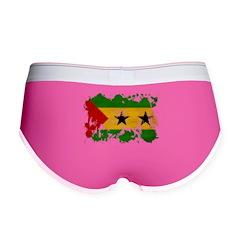 Sao Tome and Principe Flag Women's Boy Brief