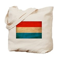Luxembourg Flag Tote Bag