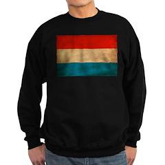 Luxembourg Flag Sweatshirt (dark)