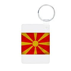 Macedonia Flag Keychains