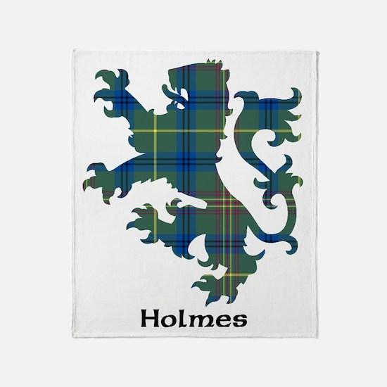 Lion - Holmes Throw Blanket