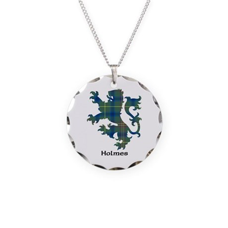 Lion - Holmes Necklace Circle Charm