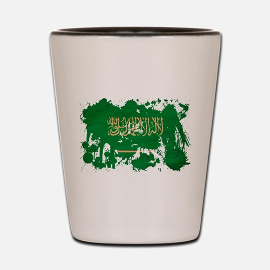 Saudi Arabia Flag Shot Glass