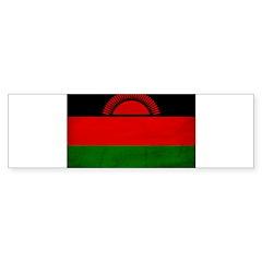 Malawi Flag Sticker (Bumper 10 pk)