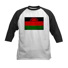 Malawi Flag Kids Baseball Jersey