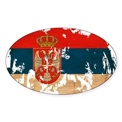 Serbia Flag Decal