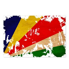 Seychelles Flag Postcards (Package of 8)