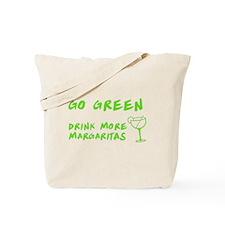 Go Green Margarita Tote Bag