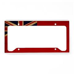 Manitoba Flag License Plate Holder