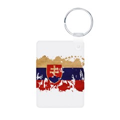 Slovakia Flag Keychains