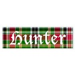 Tartan - Hunter Sticker (Bumper)