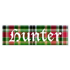 Tartan - Hunter Bumper Sticker